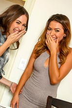 Melissa Moore And Riley Reid In Threesome 11