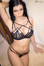 Lilly Roma Black Lingerie 03