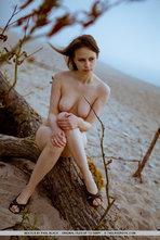 Beata Sexy Natural Girl Posing Outdoors 01