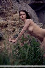 Beata Sexy Natural Girl Posing Outdoors 07