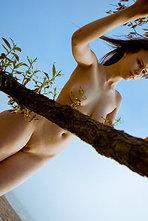 Beata Sexy Natural Girl Posing Outdoors 11